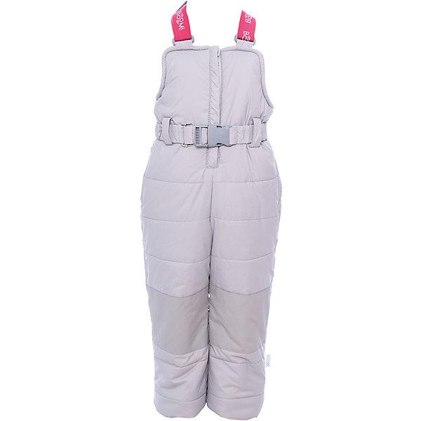 Полукомбинезон BOOM by Orby для девочкиВерхняя одежда<br>Характеристики товара:<br><br>• цвет: черный<br>• состав ткани: таффета pu milky<br>• подкладка: флис, полиэстер пуходержащий<br>• утеплитель: эко синтепон<br>• сезон: зима<br>• температурный режим: от 0 до -30С<br>• плотность утеплителя: 400 г/м2<br>• застежка: молния<br>• страна бренда: Россия<br>• страна изготовитель: Россия<br><br>Такой зимний полукомбинезон для ребенка поможет обеспечить необходимый уровень комфорта в морозы. Плотная ткань и утеплитель зимнего полукомбинезона защитят ребенка от холодного воздуха. Теплый полукомбинезон стильно смотрится и комфортно сидит. Детский полукомбинезон имеет удобную застежку. <br><br>Полукомбинезон для девочки BOOM by Orby (Бум бай Орби) можно купить в нашем интернет-магазине.<br><br>Ширина мм: 215<br>Глубина мм: 88<br>Высота мм: 191<br>Вес г: 336<br>Цвет: серый<br>Возраст от месяцев: 12<br>Возраст до месяцев: 15<br>Пол: Женский<br>Возраст: Детский<br>Размер: 80,158,152,146,140,134,128,122,116,110,104,98,92,86<br>SKU: 7090457
