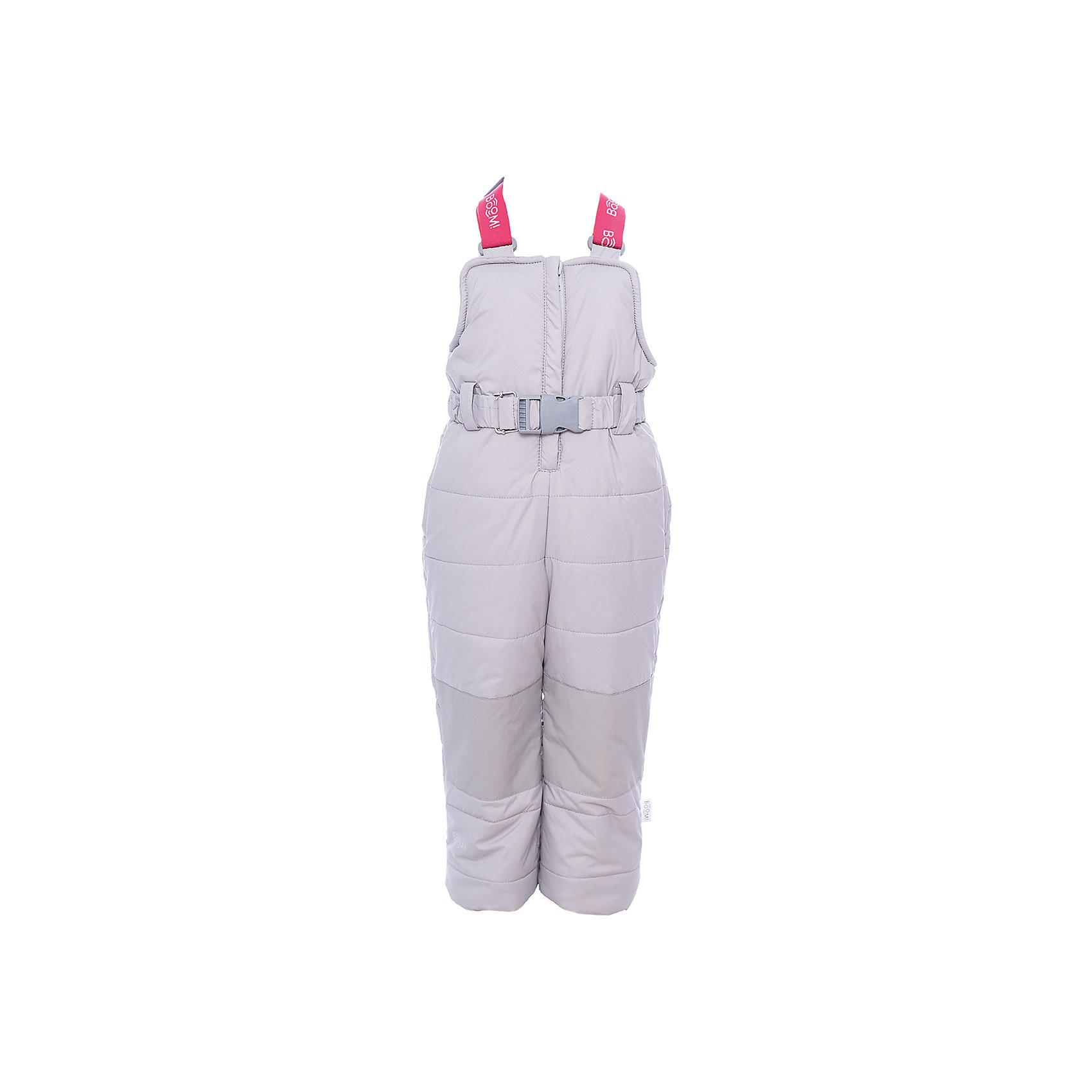 Полукомбинезон BOOM by Orby для девочкиВерхняя одежда<br>Характеристики товара:<br><br>• цвет: черный<br>• состав ткани: таффета pu milky<br>• подкладка: флис, полиэстер пуходержащий<br>• утеплитель: эко синтепон<br>• сезон: зима<br>• температурный режим: от 0 до -30С<br>• плотность утеплителя: 400 г/м2<br>• застежка: молния<br>• страна бренда: Россия<br>• страна изготовитель: Россия<br><br>Такой зимний полукомбинезон для ребенка поможет обеспечить необходимый уровень комфорта в морозы. Плотная ткань и утеплитель зимнего полукомбинезона защитят ребенка от холодного воздуха. Теплый полукомбинезон стильно смотрится и комфортно сидит. Детский полукомбинезон имеет удобную застежку. <br><br>Полукомбинезон для девочки BOOM by Orby (Бум бай Орби) можно купить в нашем интернет-магазине.<br><br>Ширина мм: 215<br>Глубина мм: 88<br>Высота мм: 191<br>Вес г: 336<br>Цвет: серый<br>Возраст от месяцев: 24<br>Возраст до месяцев: 36<br>Пол: Женский<br>Возраст: Детский<br>Размер: 80,86,92,98,104,110,116,122,128,134,140,146,152,158<br>SKU: 7090457