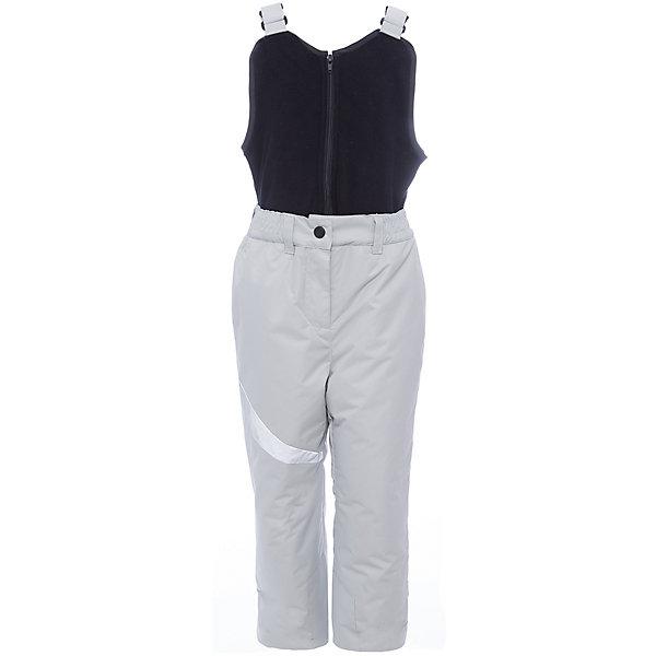 Полукомбинезон BOOM by Orby для девочкиВерхняя одежда<br>Характеристики товара:<br><br>• цвет: серый<br>• состав ткани: таффета фактурная <br>• подкладка: полиэстер пуходержащий<br>• утеплитель: эко синтепон<br>• сезон: зима<br>• мембранное покрытие<br>• температурный режим: от 0 до -30С<br>• водонепроницаемость: 3000 мм <br>• паропроницаемость: 3000 г/м2<br>• плотность утеплителя: 200 г/м2<br>• застежка: молния <br>• страна бренда: Россия<br>• страна изготовитель: Россия<br><br>Мембранный полукомбинезон для девочки поможет защитить ребенка от холода в морозы. Детский зимний полукомбинезон дополнен водо- и ветрозащитным мембранным слоем. Практичный детский полукомбинезон отлично подойдет для зимних холодов - в этом полукомбинезоне для ребенка хороший утеплитель. <br><br>Полукомбинезон для девочки BOOM by Orby (Бум бай Орби) можно купить в нашем интернет-магазине.<br><br>Ширина мм: 215<br>Глубина мм: 88<br>Высота мм: 191<br>Вес г: 336<br>Цвет: серый<br>Возраст от месяцев: 12<br>Возраст до месяцев: 18<br>Пол: Женский<br>Возраст: Детский<br>Размер: 116,110,104,98,92,86,170,164,158,152,146,140,134,128,122<br>SKU: 7090532