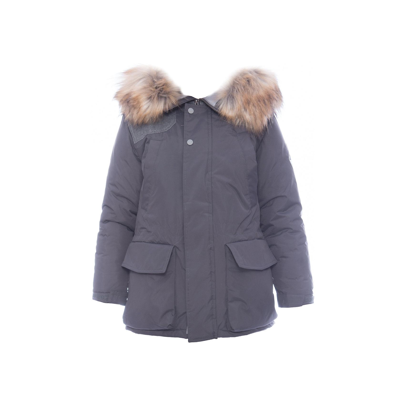 Куртка BOOM by Orby для мальчикаВерхняя одежда<br>Характеристики товара:<br><br>• цвет: серый<br>• состав ткани: таффета<br>• подкладка: полиэстер стеганый<br>• утеплитель: Flexy Fiber, эко-синтепон<br>• сезон: зима<br>• мембранное покрытие<br>• температурный режим: от 0 до -30С<br>• водонепроницаемость: 3000 мм <br>• паропроницаемость: 3000 г/м2<br>• плотность утеплителя: 200 г/м2<br>• капюшон: с мехом<br>• застежка: молния<br>• куртка-пристежка в комплекте<br>• страна бренда: Россия<br>• страна изготовитель: Россия<br><br>Эта детская куртка отлично подойдет для зимних холодов и для оттепели - специальная подстежка для этой зимней куртки снимается в более теплую погоду. Зимняя куртка для ребенка поможет обеспечить необходимый уровень утепления. Детская теплая куртка дополнена удобным капюшоном, планкой от ветра и карманами. <br><br>Куртку для мальчика BOOM by Orby (Бум бай Орби) можно купить в нашем интернет-магазине.<br><br>Ширина мм: 356<br>Глубина мм: 10<br>Высота мм: 245<br>Вес г: 519<br>Цвет: серый<br>Возраст от месяцев: 168<br>Возраст до месяцев: 180<br>Пол: Мужской<br>Возраст: Детский<br>Размер: 170,98,164,158,152,146,140,134,128,122,116,110,104<br>SKU: 7090827