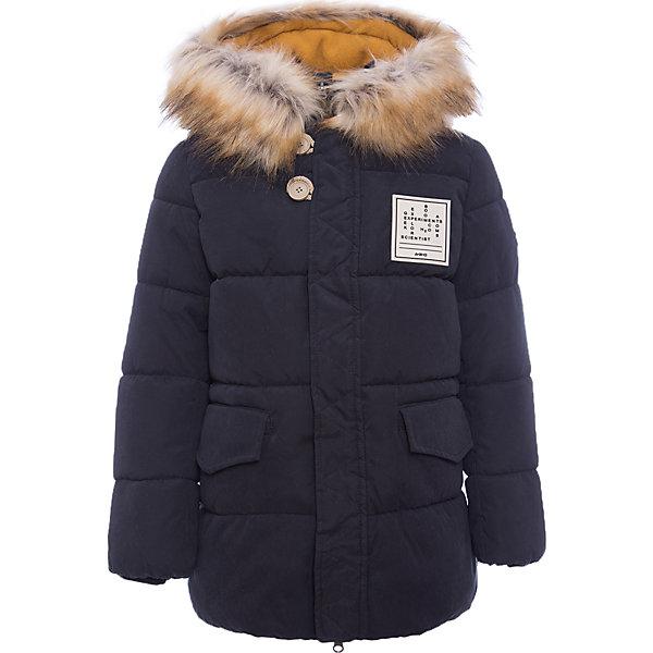 Куртка BOOM by Orby для мальчикаВерхняя одежда<br>Характеристики товара:<br><br>• цвет: черный<br>• состав ткани: оксфорд pu milky<br>• подкладка: хлопок, флис, полиэстер пуходержащий<br>• утеплитель: эко-синтепон<br>• сезон: зима<br>• температурный режим: от 0 до -30С<br>• плотность утеплителя: 400 г/м2<br>• капюшон: с мехом<br>• застежка: молния<br>• страна бренда: Россия<br>• страна изготовитель: Россия<br><br>Черная зимняя куртка для мальчика утеплена опушкой на капюшоне. Удобно и тепло одеть мальчика в зимние морозы поможет эта теплая детская куртка. Зимняя куртка для мальчика декорирована оригинальной застежкой. Детская теплая куртка дополнена удобным капюшоном, планкой от ветра и карманами.<br><br>Куртку для мальчика BOOM by Orby (Бум бай Орби) можно купить в нашем интернет-магазине.<br>Ширина мм: 356; Глубина мм: 10; Высота мм: 245; Вес г: 519; Цвет: черный; Возраст от месяцев: 48; Возраст до месяцев: 60; Пол: Мужской; Возраст: Детский; Размер: 110,164,170,98,104,116,122,128,134,140,146,152,158; SKU: 7090895;