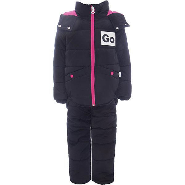 Комплект: куртка и полукомбинезон BOOM by Orby для девочкиВерхняя одежда<br>Характеристики товара:<br><br>• цвет: черный<br>• комплектация: куртка, полукомбинезон <br>• состав ткани: твил pu milky<br>• подкладка: хлопок, флис, полиэстер пуходержащий<br>• утеплитель: Flexy Fiber, эко синтепон<br>• сезон: зима<br>• температурный режим: от 0 до -30С<br>• плотность утеплителя: куртка - 400 г/м2, полукомбинезон - 200 г/м2<br>• капюшон: без меха<br>• застежка: молния<br>• страна бренда: Россия<br>• страна изготовитель: Россия.<br><br>Детский теплый комплект украшен оригинальной аппликацией. Теплый комплект для девочки дополнен удобным капюшоном, планкой от ветра и карманами. Этот зимний детский комплект создан специально для девочек. Зимний комплект для детей поможет обеспечить ребенку комфортный уровень утепления. <br><br>Комплект: куртка и полукомбинезон для девочки BOOM by Orby (Бум бай Орби) можно купить в нашем интернет-магазине.<br>Ширина мм: 356; Глубина мм: 10; Высота мм: 245; Вес г: 519; Цвет: черный; Возраст от месяцев: 12; Возраст до месяцев: 18; Пол: Женский; Возраст: Детский; Размер: 86,122,116,110,104,98,92; SKU: 7091081;