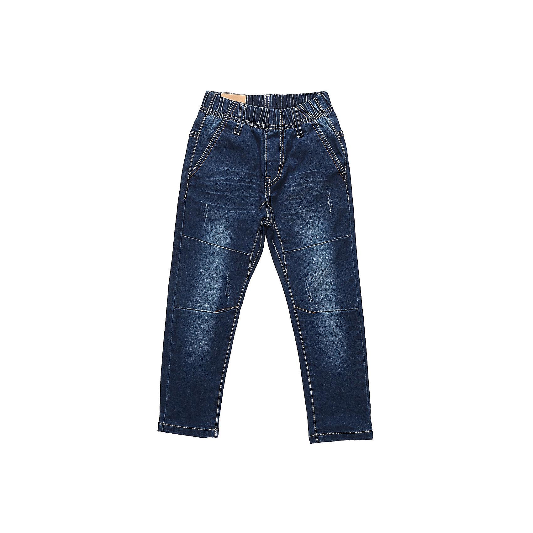 Брюки Sweet Berry для мальчикаДжинсовая одежда<br>Брюки Sweet Berry для мальчика<br>Джинсовый брюки для мальчика с оригинальной варкой и эластичным поясом. Зауженный крой, средняя посадка. Шлевки на поясе рассчитаны под ремень. В боковой части пояса находятся вшитые эластичные ленты, регулирующие посадку по талии.<br>Состав:<br>98% хлопок, 2% спандекс<br><br>Ширина мм: 215<br>Глубина мм: 88<br>Высота мм: 191<br>Вес г: 336<br>Цвет: синий<br>Возраст от месяцев: 84<br>Возраст до месяцев: 96<br>Пол: Мужской<br>Возраст: Детский<br>Размер: 128,98,104,110,116,122<br>SKU: 7093751