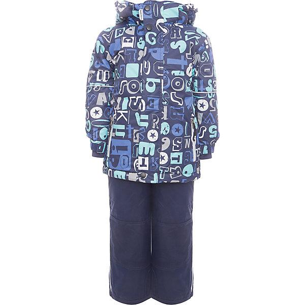 Комплект: куртка и полукомбинезон Sweet Berry для мальчикаВерхняя одежда<br>Комплект: куртка и полукомбинезон Sweet Berry для мальчика<br>Комфортный и теплый костюм  для мальчика из мембранной ткани. В конструкции учтены физиологические особенности малыша. Съемный капюшон на молниях с дополнительной утяжкой, спереди установлены две кнопки.  Рукава с манжетами, регулируются липучкой. На куртке два кармана, застегивающиеся на молнию. Застежка-молния с внешней ветрозащитной планкой. Брюки на регулируемых подтяжках гарантируют посадку по фигуре.  Колени, задняя поверхность бедер и низ брюк дополнительно усилены сверхпрочным материалом. Силиконовые отстегивающиеся штрипки на брючинах. Ткань верха: мембрана 5000мм/5000г/м2/24h, waterproof, водонепроницаемая с грязеотталкивающей пропиткой.<br>Пoдкладка: флис<br>Утеплитель: синтетический утеплитель 220 г/м? (куртка),<br>180 г/м? (рукава, п/комбинезон). Температурный режим: от -35 до +5 С<br>Состав:<br>Верх: куртка: 100%полиэстер, полукомбинезон:  100%нейлон.  Подкладка: 100%полиэстер. Наполнитель: 100%полиэстер<br><br>Ширина мм: 356<br>Глубина мм: 10<br>Высота мм: 245<br>Вес г: 519<br>Цвет: синий<br>Возраст от месяцев: 96<br>Возраст до месяцев: 108<br>Пол: Мужской<br>Возраст: Детский<br>Размер: 110,98,92,134,104,128,122,116<br>SKU: 7093823
