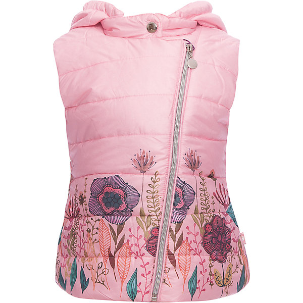 Жилет Sweet Berry для девочкиВерхняя одежда<br>Жилет Sweet Berry для девочки<br>Утепленный стеганный жилет для девочки со съемным капюшоном. Подкладка выполнена из искусственного меха. Низ изделия декорирован цветочным принтом. Застегивается на молнию.<br>Состав:<br>Верх: 100% полиэстер Подкладка: 100% полиэстер Наполнитель: 100% полиэстер<br><br>Ширина мм: 190<br>Глубина мм: 74<br>Высота мм: 229<br>Вес г: 236<br>Цвет: розовый<br>Возраст от месяцев: 24<br>Возраст до месяцев: 36<br>Пол: Женский<br>Возраст: Детский<br>Размер: 116,110,104,98,128,122<br>SKU: 7093908