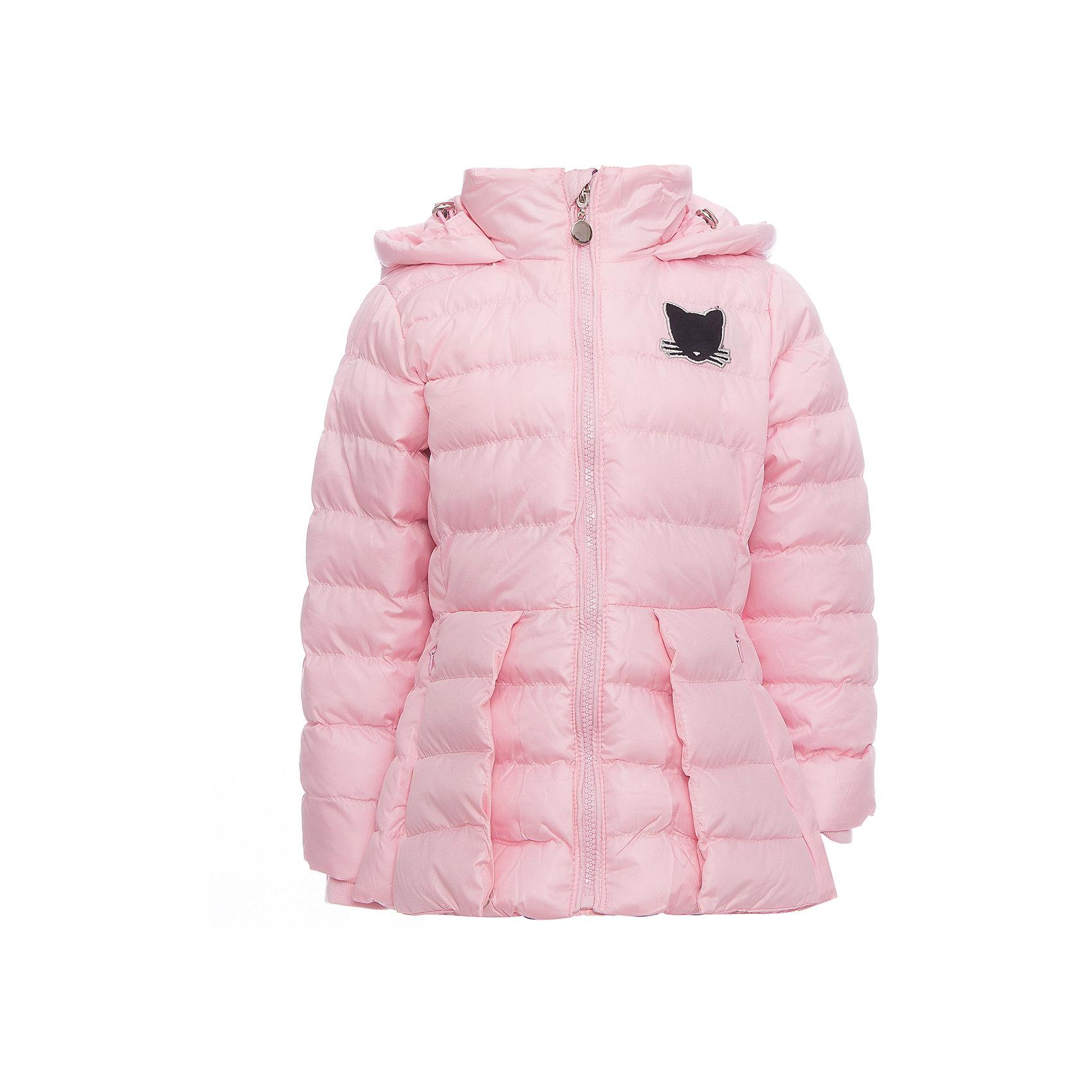 Куртка Sweet Berry для девочкиДемисезонные куртки<br>Куртка Sweet Berry для девочки<br>Стильная, стеганая куртка для девочки декорированная милой аппликацией.  Воротник- стойка, несъемный капюшон с дополнительной утяжкой. Два прорезных кармана. Рукава с мягкой эластичной манжетой. Застегивается на молнию.<br>Состав:<br>Верх: 100% полиэстер Подкладка: 100% полиэстер Наполнитель 100% полиэстер<br><br>Ширина мм: 356<br>Глубина мм: 10<br>Высота мм: 245<br>Вес г: 519<br>Цвет: розовый<br>Возраст от месяцев: 84<br>Возраст до месяцев: 96<br>Пол: Женский<br>Возраст: Детский<br>Размер: 128,98,104,110,116,122<br>SKU: 7094038