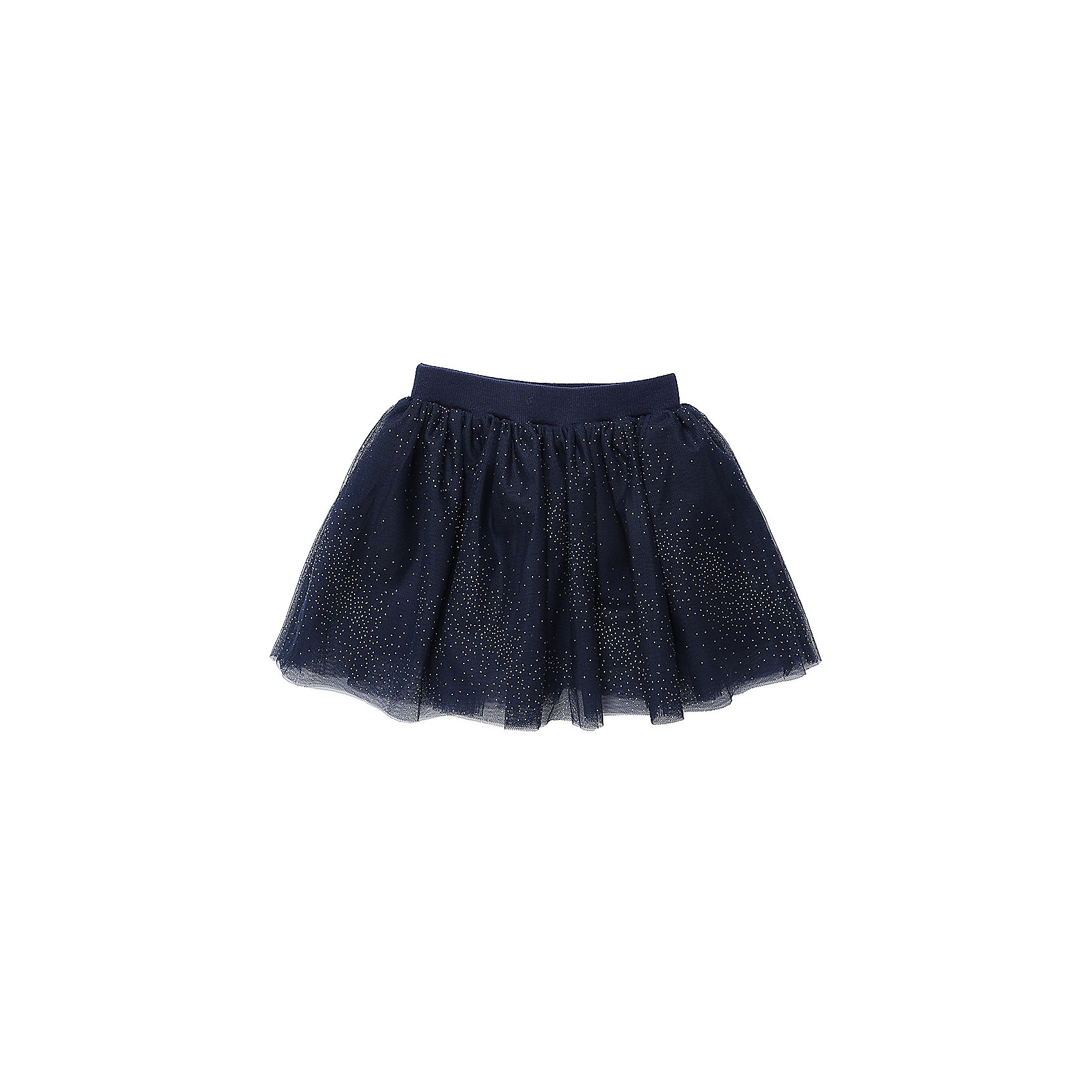 Юбка Sweet Berry для девочкиОдежда<br>Юбка Sweet Berry для девочки<br>Нарядная трикотажная юбка для девочки из фатина декорированная блестками. Хлопковая подкладка, широкий эластичный пояс.<br>Состав:<br>Основная ткань: 100% полиэстер Подкладка: 95% хлопок, 5% эластан<br><br>Ширина мм: 207<br>Глубина мм: 10<br>Высота мм: 189<br>Вес г: 183<br>Цвет: синий<br>Возраст от месяцев: 24<br>Возраст до месяцев: 36<br>Пол: Женский<br>Возраст: Детский<br>Размер: 98,80,86,92<br>SKU: 7094348