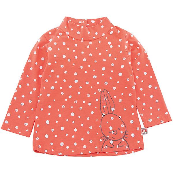 Водолазка Sweet Berry для девочкиВодолазки<br>Водолазка Sweet Berry для девочки<br>Яркая водолазка из трикотажной  ткани для девочки с оригинальным печатным рисунком и принтом. Воротник-стойка застегивается на кнопочки.<br>Состав:<br>95% хлопок, 5% эластан<br><br>Ширина мм: 230<br>Глубина мм: 40<br>Высота мм: 220<br>Вес г: 250<br>Цвет: оранжевый<br>Возраст от месяцев: 12<br>Возраст до месяцев: 18<br>Пол: Женский<br>Возраст: Детский<br>Размер: 86,98,92,80<br>SKU: 7094393