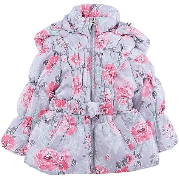 Куртка Sweet Berry для девочкиВерхняя одежда<br>Характеристики товара:<br><br>• цвет: серый;<br>• ткань верха: 100% полиэстер;<br>• подкладка: 100% полиэстер, искусственный мех;<br>• наполнитель: 100% полиэстер;<br>• сезон: демисезон;<br>• температурный режим: от +5 до -15С;<br>• особенности модели: стеганая, с капюшоном<br>• капюшон: без меха, несъемный;<br>• застежка: молния с защитой подбородка;<br>• дополнительная утяжка на капюшоне;<br>• пояс в комплекте;<br>• два прорезных кармана;<br>• страна бренда: Россия<br>• страна производства: Китай<br><br>Утепленная, стеганая куртка с оригинальным цветочным принтом для девочки. Воротник - стойка, меховая подкладка, цельнокроеный капюшон с утяжкой, два прорезных карманы, поясок. Приталенный крой.<br><br>Куртку Sweet Berry (Свит Берри) для девочки можно купить в нашем интернет-магазине.<br>Ширина мм: 356; Глубина мм: 10; Высота мм: 245; Вес г: 519; Цвет: серый; Возраст от месяцев: 12; Возраст до месяцев: 15; Пол: Женский; Возраст: Детский; Размер: 80,98,86,92; SKU: 7094453;
