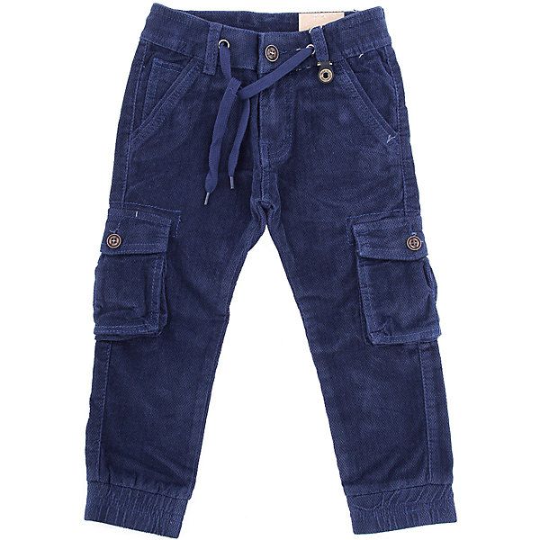 Брюки Sweet Berry для мальчикаБрюки<br>Брюки Sweet Berry для мальчика<br>Модные, вельветовые брюки для мальчика на эластичный пояс со шнуром для регулирования объема по талии. Низ брючин собран на мягкие манжеты. Брюки декорированы двумя накладными карманами.<br>Состав:<br>98% хлопок, 2% спандекс<br><br>Ширина мм: 215<br>Глубина мм: 88<br>Высота мм: 191<br>Вес г: 336<br>Цвет: синий<br>Возраст от месяцев: 60<br>Возраст до месяцев: 72<br>Пол: Мужской<br>Возраст: Детский<br>Размер: 110,104,116,98,128,122<br>SKU: 7094706