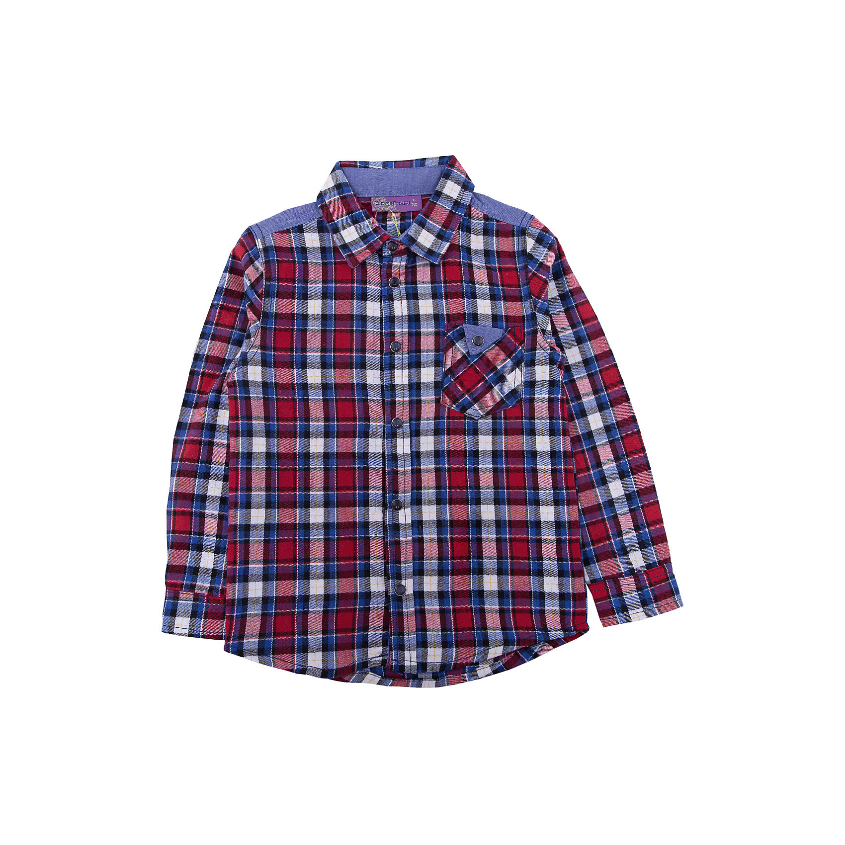 Рубашка Sweet Berry для мальчикаБлузки и рубашки<br>Рубашка Sweet Berry для мальчика<br>Стильная хлопковая рубашка из байковой ткани в клетку с накладным карманом и контрастной отделкой на спинке. Длинный рукав. Застегивается на кнопки. Отложной воротничок.<br>Состав:<br>100% хлопок<br><br>Ширина мм: 174<br>Глубина мм: 10<br>Высота мм: 169<br>Вес г: 157<br>Цвет: красный<br>Возраст от месяцев: 84<br>Возраст до месяцев: 96<br>Пол: Мужской<br>Возраст: Детский<br>Размер: 128,98,104,110,116,122<br>SKU: 7094727