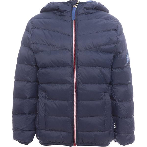 Куртка Sweet Berry для мальчикаВерхняя одежда<br>Куртка Sweet Berry для мальчика<br>Модная стеганая куртка с несъемным капюшоном для мальчика. Два прорезных кармана. Капюшон, рукава и низ изделия оформлены контрастной окантовочной резинкой. Куртка застегивается на молнию.<br>Состав:<br>Верх: 100% нейлон Подкладка: 100% полиэстер Наполнитель 100% полиэстер<br><br>Ширина мм: 356<br>Глубина мм: 10<br>Высота мм: 245<br>Вес г: 519<br>Цвет: синий<br>Возраст от месяцев: 84<br>Возраст до месяцев: 96<br>Пол: Мужской<br>Возраст: Детский<br>Размер: 128,122,116,110,104,98<br>SKU: 7094749
