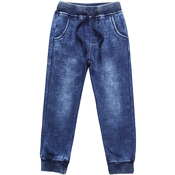 Брюки Sweet Berry для мальчикаДжинсовая одежда<br>Брюки Sweet Berry для мальчика<br>Трикотажные брюки для мальчика темно-синего цвета декорированные оригинальной варкой под джинсу, низ брючин собран на мягкие манжеты. Пояс-резинка дополнен шнуром для регулирования объема по талии.<br>Состав:<br>98% хлопок, 2% спандекс<br><br>Ширина мм: 215<br>Глубина мм: 88<br>Высота мм: 191<br>Вес г: 336<br>Цвет: синий<br>Возраст от месяцев: 84<br>Возраст до месяцев: 96<br>Пол: Мужской<br>Возраст: Детский<br>Размер: 128,122,116,110,104,98<br>SKU: 7094840