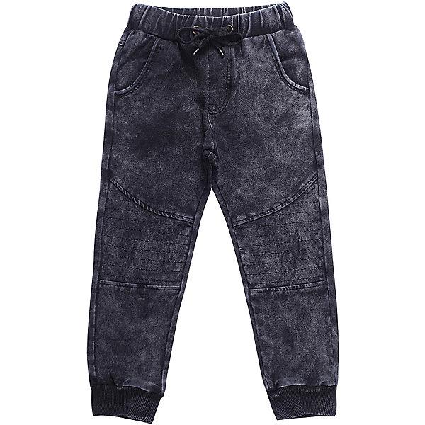 Брюки Sweet Berry для мальчикаДжинсы<br>Брюки Sweet Berry для мальчика<br>Трикотажные брюки для мальчика темно-серого цвета декорированные оригинальной варкой под джинсу, низ брючин собран на мягкие манжеты. Пояс-резинка дополнен шнуром для регулирования объема по талии.<br>Состав:<br>98% хлопок, 2% спандекс<br><br>Ширина мм: 215<br>Глубина мм: 88<br>Высота мм: 191<br>Вес г: 336<br>Цвет: серый<br>Возраст от месяцев: 24<br>Возраст до месяцев: 36<br>Пол: Мужской<br>Возраст: Детский<br>Размер: 98,128,122,116,110,104<br>SKU: 7094847