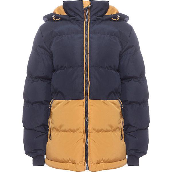 Куртка Sweet Berry для мальчикаВерхняя одежда<br>Характеристики товара:<br><br>• цвет: синий;<br>• ткань верха: 100% полиэстер;<br>• подкладка: 100% полиэстер, флис;<br>• наполнитель: 100% полиэстер;<br>• сезон: демисезон;<br>• температурный режим: от 0 до +15С;<br>• особенности модели: стеганая, с капюшоном;<br>• капюшон: без меха, несъемный;<br>• застежка: молния с защитой подбородка;<br>• рукава с трикотажными манжетами;;<br>• два кармана на молнии;<br>• страна бренда: Россия;<br>• страна производства: Китай.<br><br>Утепленная стеганная куртка для мальчика выполнена из двух контрастных цветов. Воротник - стойка. Несъемный капюшон с утяжкой. Два прорезных кармана застегивающиеся на молнию. Флисовая подкладка. Рукава с мягкими трикотажными манжетами. Куртка застегивается на молнию.<br><br>Куртку Sweet Berry (Свит Берри) для мальчика можно купить в нашем интернет-магазине.<br>Ширина мм: 356; Глубина мм: 10; Высота мм: 245; Вес г: 519; Цвет: синий; Возраст от месяцев: 24; Возраст до месяцев: 36; Пол: Мужской; Возраст: Детский; Размер: 98,128,122,116,110,104; SKU: 7094861;