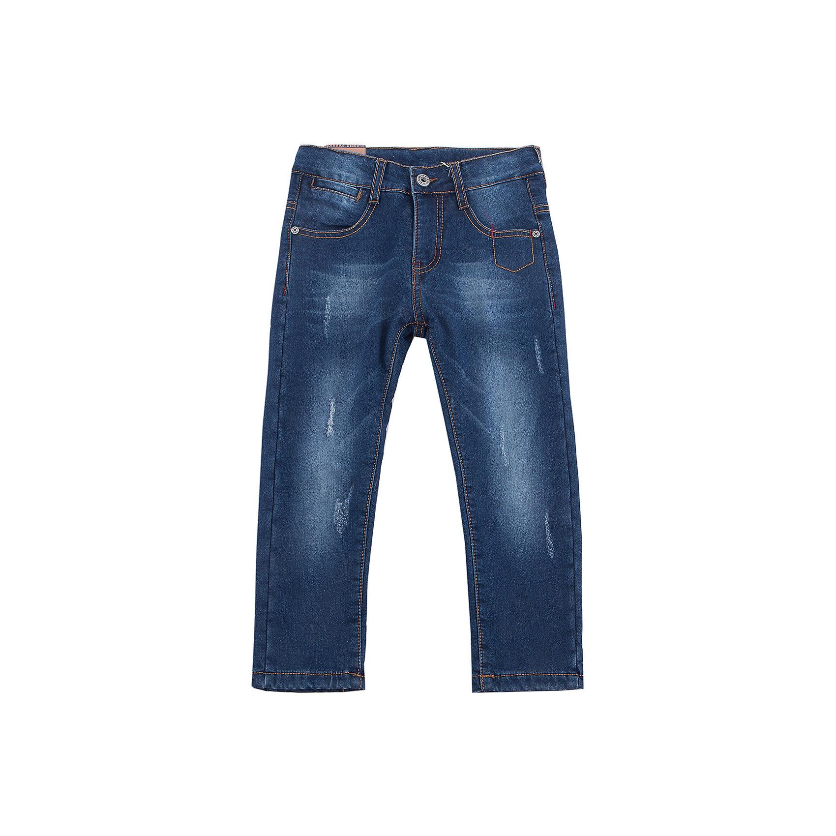 Брюки Sweet Berry для мальчикаДжинсовая одежда<br>Брюки Sweet Berry для мальчика<br>Утепленные джинсовый брюки для мальчика на флисовой подкладке с оригинальной варкой. Прямой крой, средняя посадка. Застегиваются на молнию и пуговицу. Шлевки на поясе рассчитаны под ремень. В боковой части пояса находятся вшитые эластичные ленты, регулирующие посадку по талии.<br>Состав:<br>Основная ткань: 98% хлопок, 2% спандекс Подкладка: 100% полиэстер<br><br>Ширина мм: 215<br>Глубина мм: 88<br>Высота мм: 191<br>Вес г: 336<br>Цвет: синий<br>Возраст от месяцев: 84<br>Возраст до месяцев: 96<br>Пол: Мужской<br>Возраст: Детский<br>Размер: 128,98,104,110,116,122<br>SKU: 7094959