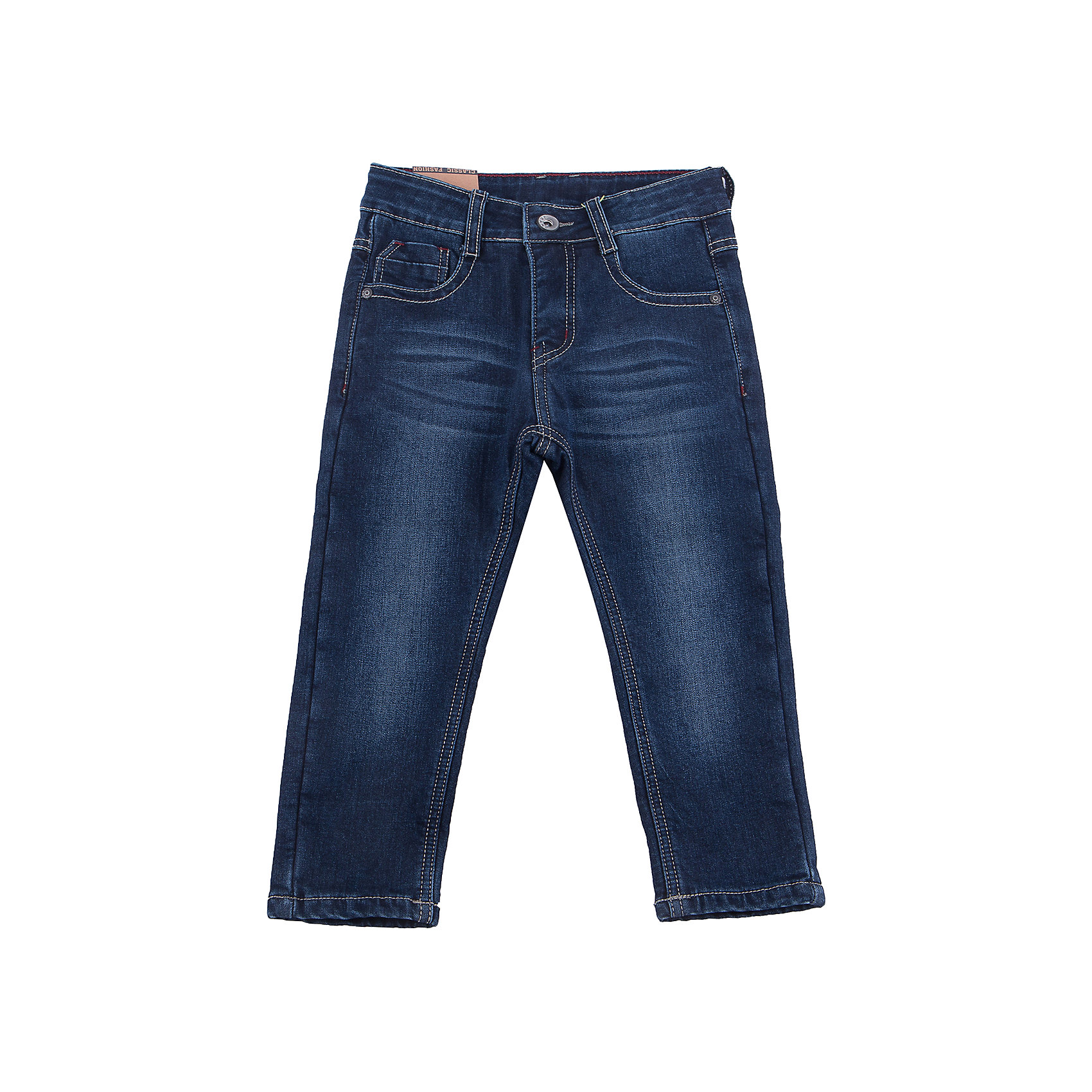 Брюки Sweet Berry для мальчикаДжинсовая одежда<br>Брюки Sweet Berry для мальчика<br>Утепленные джинсовый брюки для мальчика на флисовой подкладке с оригинальной варкой. Прямой крой, средняя посадка. Застегиваются на молнию и пуговицу. Шлевки на поясе рассчитаны под ремень. В боковой части пояса находятся вшитые эластичные ленты, регулирующие посадку по талии.<br>Состав:<br>Основная ткань: 98% хлопок, 2% спандекс Подкладка: 100% полиэстер<br><br>Ширина мм: 215<br>Глубина мм: 88<br>Высота мм: 191<br>Вес г: 336<br>Цвет: синий<br>Возраст от месяцев: 24<br>Возраст до месяцев: 36<br>Пол: Мужской<br>Возраст: Детский<br>Размер: 98,128,104,110,116,122<br>SKU: 7095005