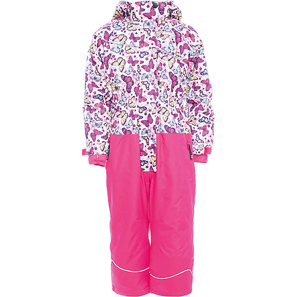 Комбинезон Sweet Berry для девочкиВерхняя одежда<br>Характеристики товара:<br><br>• цвет: розовый;<br>• ткань верха: верх 100% полиэстер, штанины 100% нейлон;<br>• подкладка: 100% полиэстер, трикотаж с ворсом;<br>• наполнитель: 100% полиэстер;<br>• утеплитель: синтепух верх 80 г/м?, штанины 60 г/м? ;<br>• сезон: демисезон<br>• температурный режим: от 0 до +10С;<br>• водонепроницаемость: 3000 мм;<br>• воздухопропускаемость: 3000г/м2;<br>• особенности модели: с капюшоном;<br>• капюшон: съемный, без меха;<br>• застежка: молния с защитой подбородка;<br>• капюшон с дополнительной утяжкой;<br>• рукава с манжетами на липучках;<br>• два кармана на молнии;<br>• ветрозащитная планка;<br>• низ штанин на липучках;<br>• страна бренда: Россия;<br>• страна производства: Китай.<br><br>Комфортный и теплый комбинезон для девочки из мембранной ткани. В конструкции учтены физиологические особенности малыша. Съемный капюшон на кнопках с дополнительной утяжкой, спереди установлены две кнопки. Рукава с манжетами, регулируются липучкой. <br><br>Два кармана, застегивающиеся на молнию. Застежка-молния с внешней ветрозащитной планкой. По бокам брюк расположены карманы на молниях. Штанины внизу затягиваются липучками. Ткань верха: мембрана 3000мм/3000г/м2/24h, waterproof, водонепроницаемая с грязеотталкивающей пропиткой. Пoдкладка: мягкая трикотажная ткань с ворсом.<br><br>Комбинезон Sweet Berry (Свит Берри) для девочки можно купить в нашем интернет-магазине.<br>Ширина мм: 356; Глубина мм: 10; Высота мм: 245; Вес г: 519; Цвет: розовый; Возраст от месяцев: 48; Возраст до месяцев: 60; Пол: Женский; Возраст: Детский; Размер: 110,104,134,128,122,116; SKU: 7095315;
