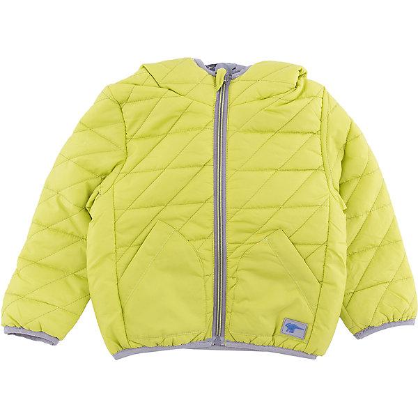 Куртка Sweet Berry для мальчикаВерхняя одежда<br>Характеристики товара:<br><br>• цвет: зеленый;<br>• ткань верха: 100% полиэстер;<br>• подкладка: 100% полиэстер;<br>• наполнитель: 100% полиэстер;<br>• сезон: демисезон;<br>• температурный режим: от 0 до +15С;<br>• особенности модели: стеганая, с капюшоном;<br>• двухсторонняя куртка;<br>• капюшон: без меха, несъемный;<br>• застежка: молния с защитой подбородка;<br>• капюшон, рукава и низ изделия на резинке;<br>• два прорезных кармана;<br>• страна бренда: Россия;<br>• страна производства: Китай.<br><br>Двусторонняя утепленная стеганая куртка для мальчика. Цельнокроеный капюшон, два прорезных карманы. Капюшон, рукава и низ изделия оформлены контрастной окантовочной резинкой.<br><br>Куртку Sweet Berry (Свит Берри) для мальчика можно купить в нашем интернет-магазине.<br>Ширина мм: 356; Глубина мм: 10; Высота мм: 245; Вес г: 519; Цвет: зеленый; Возраст от месяцев: 12; Возраст до месяцев: 15; Пол: Мужской; Возраст: Детский; Размер: 80,98,92,86; SKU: 7095389;