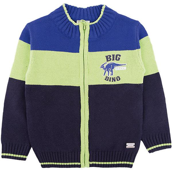 Жакет Sweet Berry для мальчикаТолстовки, свитера, кардиганы<br>Характеристики товара:<br><br>• цвет: зеленый<br>• состав материала: 60% хлопок, 40% акрил<br>• сезон: демисезон<br>• застежка: молния<br>• длинные рукава<br>• страна бренда: Россия<br>• страна производства: Китай<br><br>Модный жакет для мальчика дополнен удобной молнией. Жакет для детей Sweet Berry оригинально декорирован принтом. Теплый детский жакет стильно смотрится. Этот детский жакет из мягкой пряжи комфортно сидит по фигуре. <br><br>Жакет Sweet Berry (Свит Берри) для мальчика можно купить в нашем интернет-магазине.<br>Ширина мм: 190; Глубина мм: 74; Высота мм: 229; Вес г: 236; Цвет: синий; Возраст от месяцев: 12; Возраст до месяцев: 15; Пол: Мужской; Возраст: Детский; Размер: 80,98,92,86; SKU: 7095399;