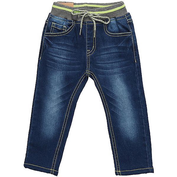 Брюки Sweet Berry для мальчикаДжинсовая одежда<br>Брюки Sweet Berry для мальчика<br>Утепленные джинсовые брюки для мальчика на флисовой подкладке. Мягкий эластичный пояс со шнуром для регулирования объема по талии. Прямой крой, средняя посадка  Задний карман декорирован оригинальной вышивкой.<br>Состав:<br>Основная ткань: 98% хлопок, 2% спандекс Подкладка: 100% полиэстер<br><br>Ширина мм: 215<br>Глубина мм: 88<br>Высота мм: 191<br>Вес г: 336<br>Цвет: синий<br>Возраст от месяцев: 12<br>Возраст до месяцев: 15<br>Пол: Мужской<br>Возраст: Детский<br>Размер: 80,98,92,86<br>SKU: 7095414