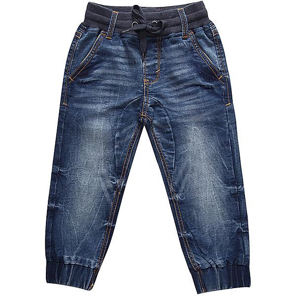Брюки Sweet Berry для мальчикаДжинсовая одежда<br>Брюки Sweet Berry для мальчика<br>Джинсовые брюки для мальчика с мягким эластичным пояс и шнуром для регулирования объема по талии. Низ брючин собран на мягкие манжеты. Средняя посадка<br>Состав:<br>98% хлопок, 2% спандекс<br><br>Ширина мм: 215<br>Глубина мм: 88<br>Высота мм: 191<br>Вес г: 336<br>Цвет: синий<br>Возраст от месяцев: 12<br>Возраст до месяцев: 15<br>Пол: Мужской<br>Возраст: Детский<br>Размер: 80,98,92,86<br>SKU: 7095614