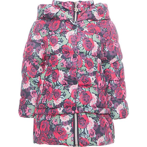Пальто Sweet Berry для девочкиПальто и плащи<br>Пальто Sweet Berry для девочки<br>Утепленное стеганое пальто для девочки с цветочным принтом. Шалевый капюшон, меховая подкладка. Два прорезных кармана. Пальто застегивается на молнию и ветрозащитную планку.<br>Состав:<br>Верх: 100% полиэстер Подкладка: 100% полиэстер Наполнитель 100% полиэстер<br><br>Ширина мм: 356<br>Глубина мм: 10<br>Высота мм: 245<br>Вес г: 519<br>Цвет: розовый<br>Возраст от месяцев: 12<br>Возраст до месяцев: 15<br>Пол: Женский<br>Возраст: Детский<br>Размер: 80,98,92,86<br>SKU: 7095639