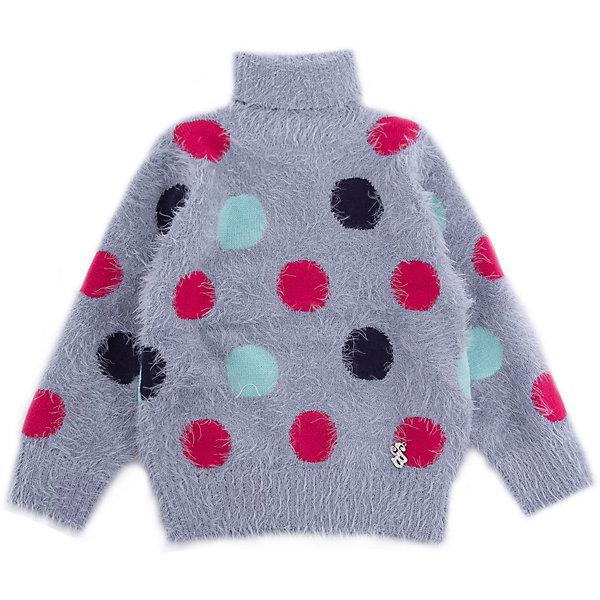 Свитер Sweet Berry для девочкиТолстовки, свитера, кардиганы<br>Свитер Sweet Berry для девочки<br>Мягкий свитер для девочки из ворсовой пряжи травка серого цвета с воротником- стойкой декорированный ярким вязанным горошком.<br>Состав:<br>60% нейлон, 40% акрил<br><br>Ширина мм: 190<br>Глубина мм: 74<br>Высота мм: 229<br>Вес г: 236<br>Цвет: серый<br>Возраст от месяцев: 12<br>Возраст до месяцев: 15<br>Пол: Женский<br>Возраст: Детский<br>Размер: 80,98,92,86<br>SKU: 7095654