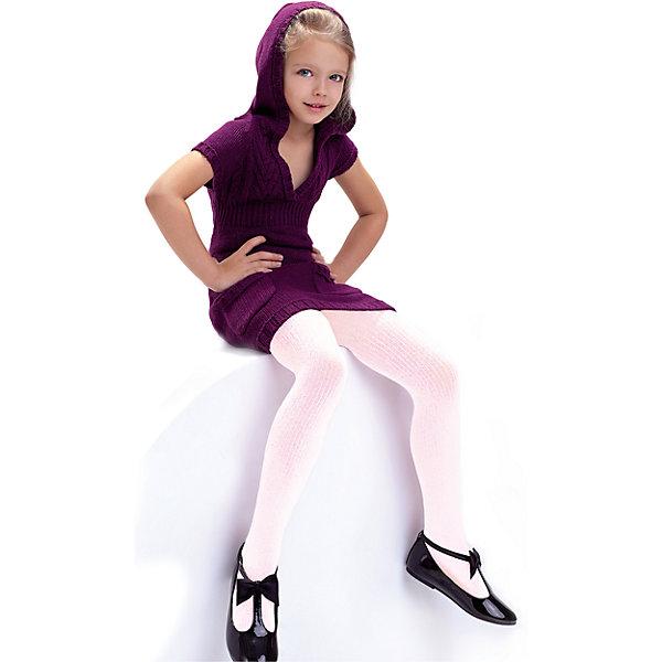 Колготки Knittex для девочкиКолготки<br>Характеристики товара:<br><br>• цвет: бледно - розовый;<br>• пол: девочка;<br>• вид колготок: классические;<br>• фактура материала: в рубчик;<br>• состав: вискоза 65%, полиамид 31%, эластан 4%;<br>• плотность плетения: 100 ден;<br>• назначение белья: повседневное;<br>• особенности модели: однотонные, без рисунка;<br>• классическая высота талии;<br>• широкая резинка на поясе;<br>• ластовица;<br>• усиленные мысок;<br>• без пятки;<br>• страна бренда: Польша;<br>• страна изготовитель: Польша.<br><br>Однотонные детские колготки, изготовленные из вискозы, плотностью 100 den с рельефным продольным рисунком в виде рубчика по всей длине изделия. Очень мягкие, приятные на ощупь, комфортные в носке. Классическая посадка. Широкая резинка. Ластовица. В размерах 92-110 на шортиках сзади два шва. Укрепленный мысок. Без пятки. Рекомендации по уходу: ручная стирка с изнаночной стороны, не гладить, не отбеливать, не подвергать химчистке, не сушить в центрифуге.<br><br>Однотонные детские колготки Agatka бренда Knittex можно купить в нашем интернет-магазине.<br><br>Ширина мм: 123<br>Глубина мм: 10<br>Высота мм: 149<br>Вес г: 209<br>Цвет: розовый<br>Возраст от месяцев: 24<br>Возраст до месяцев: 36<br>Пол: Женский<br>Возраст: Детский<br>Размер: 92/98,146/152,134/140,128/134,122/128,116/122,104/110<br>SKU: 7095924