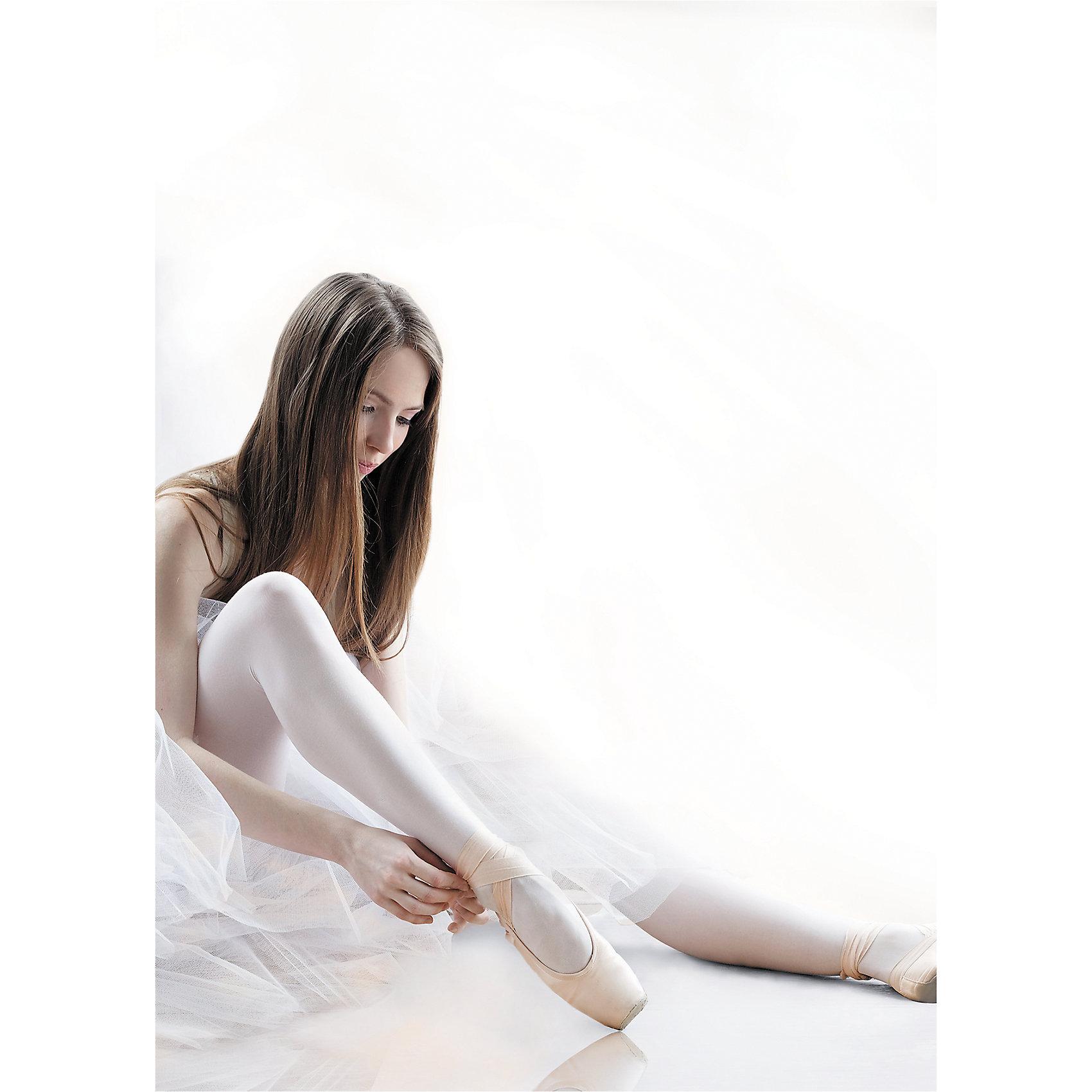 Колготки Knittex для девочкиКолготки<br>Колготки Knittex для девочки<br>Однотонные непрозрачные колготки для танцев и балета из микрофибры плотностью 50 den.  За счет использования технологии 3D-пллетения изделие идеально облегает ногу, будто «вторая кожа», и сохраняет форму в течение длительного времени. Без шортиков. Плоские швы. Ластовица.  Укрепленный мысок. <br>Состав:<br>полиамид 92%, эластан 8%<br><br>Ширина мм: 123<br>Глубина мм: 10<br>Высота мм: 149<br>Вес г: 209<br>Цвет: белый<br>Возраст от месяцев: 72<br>Возраст до месяцев: 84<br>Пол: Женский<br>Возраст: Детский<br>Размер: 116/128,104/116<br>SKU: 7095993