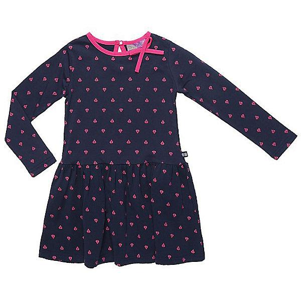 Платье Sweet Berry для девочкиПлатья и сарафаны<br>Характеристики товара:<br><br>• цвет: синий<br>• состав: 95% хлопок, 5% эластан<br>• сезон: демисезон<br>• застежка: пуговица<br>• длинные рукава<br>• страна бренда: Россия<br>• страна производства: Китай<br><br>Стильное легкое платье для девочки отличается оригинальным дизайном. Платье для девочки легко надевается благодаря мягкому эластичному трикотажу. Детское платье отлично подходит для ношения в теплую и прохладную погоду. <br><br>Платье Sweet Berry (Свит Берри) для девочки можно купить в нашем интернет-магазине.<br><br>Ширина мм: 236<br>Глубина мм: 16<br>Высота мм: 184<br>Вес г: 177<br>Цвет: синий<br>Возраст от месяцев: 84<br>Возраст до месяцев: 96<br>Пол: Женский<br>Возраст: Детский<br>Размер: 128,98,104,110,116,122<br>SKU: 7096579