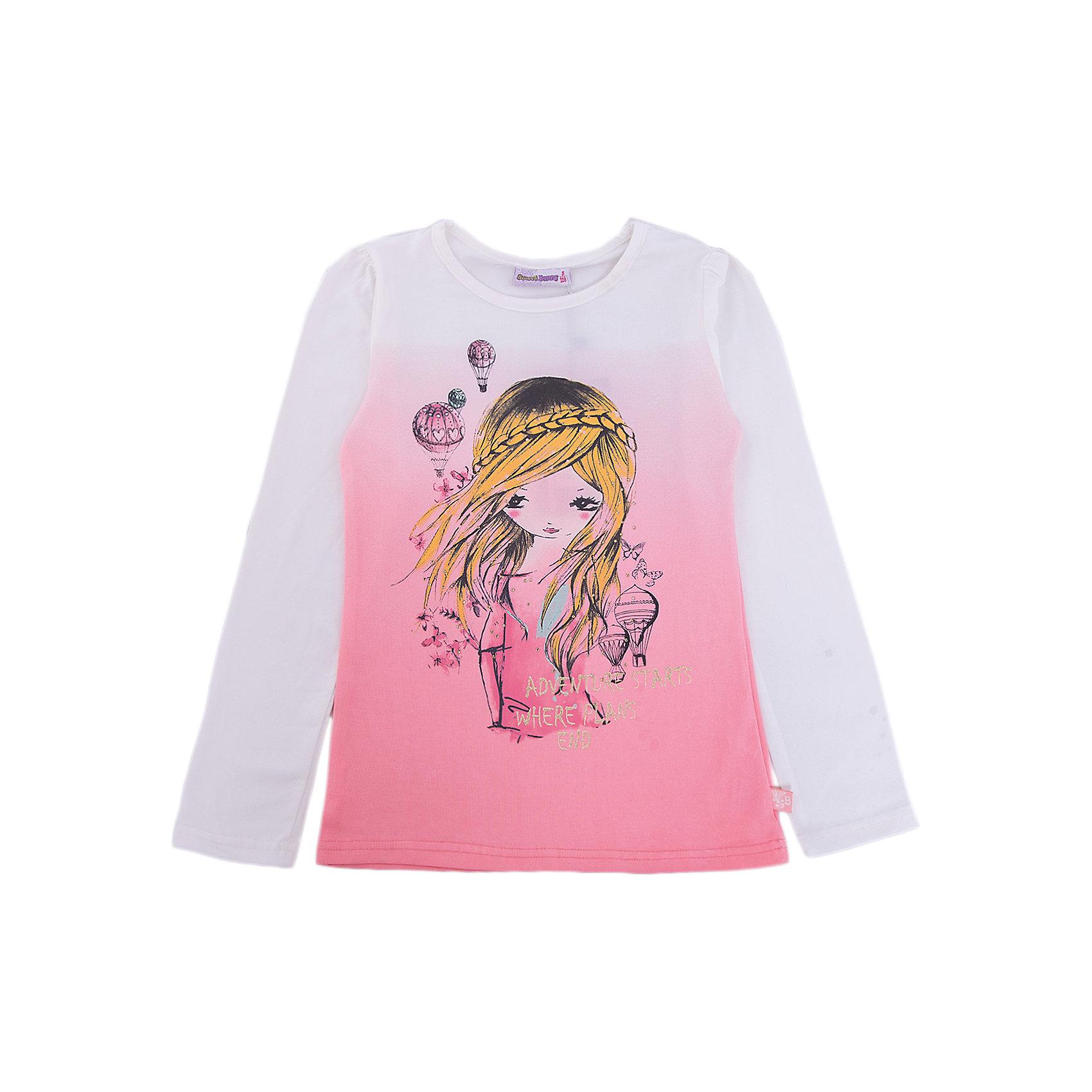 Футболка с длинным рукавом Sweet Berry для девочкиФутболки с длинным рукавом<br>Характеристики товара:<br><br>• цвет: розовый<br>• состав: 95% хлопок, 5% лайкра<br>• сезон: демисезон<br>• длинные рукава<br>• декор: принт<br>• страна бренда: Россия<br>• страна производства: Китай<br><br>Трикотажная футболка с длинным рукавом для девочки сделана из качественного материала с добавлением хлопка. Лонгслив Sweet Berry для девочки оригинально выглядит благодаря принту. Детский лонгслив может стать базовой вещью в гардеробе <br><br>Лонгслив Sweet Berry (Свит Берри) для девочки можно купить в нашем интернет-магазине.<br><br>Ширина мм: 230<br>Глубина мм: 40<br>Высота мм: 220<br>Вес г: 250<br>Цвет: оранжевый<br>Возраст от месяцев: 84<br>Возраст до месяцев: 96<br>Пол: Женский<br>Возраст: Детский<br>Размер: 128,98,104,110,116,122<br>SKU: 7096677