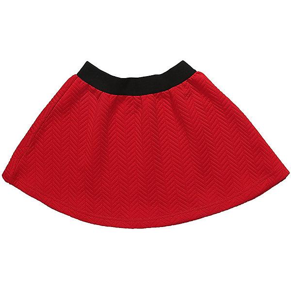 Юбка Sweet Berry для девочкиЮбки<br>Характеристики товара:<br><br>• цвет: красный<br>• состав: 95% хлопок, 5% эластан<br>• сезон: демисезон<br>• пояс: резинка<br>• страна бренда: Россия<br>• страна производства: Китай<br><br>Красная детская юбка эффектно смотрится на фигуре. Эта юбка для девочки сделана из плотной хлопковой такни. Модная юбка для девочки выполнена в эффектном цвете. <br><br>Юбку Sweet Berry (Свит Берри) для девочки можно купить в нашем интернет-магазине.<br><br>Ширина мм: 207<br>Глубина мм: 10<br>Высота мм: 189<br>Вес г: 183<br>Цвет: красный<br>Возраст от месяцев: 24<br>Возраст до месяцев: 36<br>Пол: Женский<br>Возраст: Детский<br>Размер: 98,128,104,110,116,122<br>SKU: 7096802