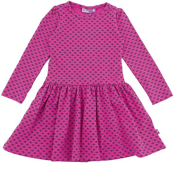 Платье Sweet Berry для девочкиОсенне-зимние платья и сарафаны<br>Характеристики товара:<br><br>• цвет: фуксия<br>• состав: 95% хлопок, 5% лайкра<br>• сезон: демисезон<br>• длинные рукава <br>• страна бренда: Россия<br>• страна производства: Китай<br><br>Яркое платье Sweet Berry для девочки отличается присборенными рукавами. В таком детском платье ребенок будет выглядеть аккуратно и чувствовать себя комфортно. Симпатичное платье для девочки сделано из мягкого дышащего материала.<br><br>Платье Sweet Berry (Свит Берри) для девочки можно купить в нашем интернет-магазине.<br><br>Ширина мм: 236<br>Глубина мм: 16<br>Высота мм: 184<br>Вес г: 177<br>Цвет: розовый<br>Возраст от месяцев: 24<br>Возраст до месяцев: 36<br>Пол: Женский<br>Возраст: Детский<br>Размер: 98,128,104,110,116,122<br>SKU: 7096872