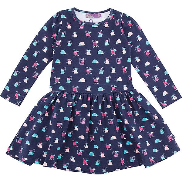 Платье Sweet Berry для девочкиПлатья и сарафаны<br>Характеристики товара:<br><br>• цвет: синий<br>• состав: 95% хлопок, 5% лайкра<br>• сезон: демисезон<br>• длинные рукава <br>• страна бренда: Россия<br>• страна производства: Китай<br><br>Это платье для девочки сделано из мягкого дышащего материала. Удобное платье Sweet Berry для девочки отличается оригинальным принтом. В таком детском платье ребенок будет выглядеть аккуратно и чувствовать себя комфортно.<br><br>Платье Sweet Berry (Свит Берри) для девочки можно купить в нашем интернет-магазине.<br><br>Ширина мм: 236<br>Глубина мм: 16<br>Высота мм: 184<br>Вес г: 177<br>Цвет: синий<br>Возраст от месяцев: 48<br>Возраст до месяцев: 60<br>Пол: Женский<br>Возраст: Детский<br>Размер: 110,128,98,104,116,122<br>SKU: 7096879