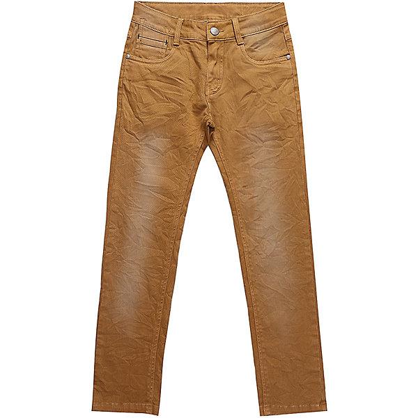 Джинсы Luminoso для мальчикаДжинсовая одежда<br>Характеристики товара:<br><br>• цвет: коричневый<br>• состав: 98% хлопок, 2% спандекс <br>• сезон: демисезон<br>• застежка: пуговица, молния<br>• шлевки<br>• эффект потертостей<br>• страна бренда: Россия<br>• страна производства: Китай<br><br>Эти детские джинсы модно смотрятся и комфортно сидят по фигуре. Такие джинсы для мальчика дополнены шлевками для ремня. Синие классические джинсы Luminoso для мальчика легко надеваются благодаря удобной застежке. <br><br>Джинсы Luminoso (Люминозо) для мальчика можно купить в нашем интернет-магазине.<br>Ширина мм: 215; Глубина мм: 88; Высота мм: 191; Вес г: 336; Цвет: оранжевый; Возраст от месяцев: 96; Возраст до месяцев: 108; Пол: Мужской; Возраст: Детский; Размер: 140,134,164,158,152,146; SKU: 7096949;