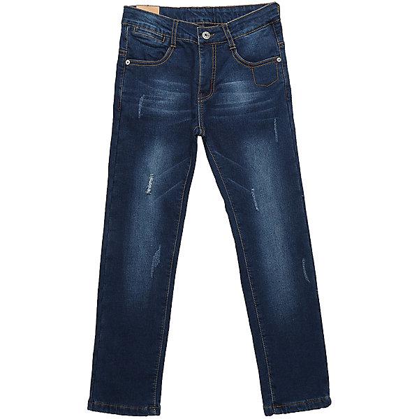 Джинсы Luminoso для мальчикаДжинсовая одежда<br>Характеристики товара:<br><br>• цвет: синий<br>• состав: 98% хлопок, 2% спандекс, подкладка -100% полиэстер<br>• сезон: демисезон<br>• застежка: пуговица, молния<br>• шлевки<br>• эффект потертостей<br>• страна бренда: Россия<br>• страна производства: Китай<br><br>Классические детские джинсы модно смотрятся и комфортно сидят по фигуре. Такие джинсы для мальчика дополнены шлевками для ремня. Синие джинсы Luminoso для мальчика легко надеваются благодаря удобной застежке. <br><br>Джинсы Luminoso (Люминозо) для мальчика можно купить в нашем интернет-магазине.<br><br>Ширина мм: 215<br>Глубина мм: 88<br>Высота мм: 191<br>Вес г: 336<br>Цвет: синий<br>Возраст от месяцев: 108<br>Возраст до месяцев: 120<br>Пол: Мужской<br>Возраст: Детский<br>Размер: 140,134,164,158,152,146<br>SKU: 7096970