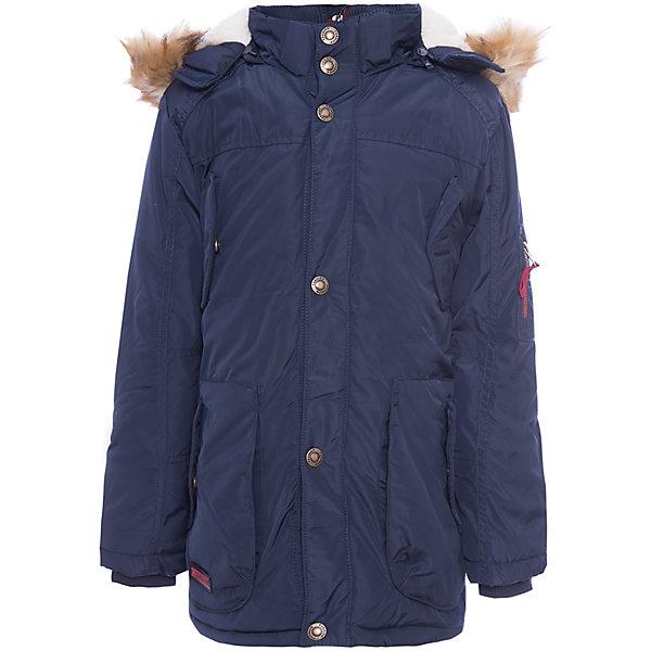 Куртка Luminoso для мальчикаВерхняя одежда<br>Характеристики товара:<br><br>• цвет: синий<br>• состав ткани: 100% полиэстер<br>• подкладка: 100% полиэстер <br>• утеплитель: 100% полиэстер <br>• сезон: демисезон<br>• температурный режим: от -10 до +5<br>• капюшон: с мехом, съемный<br>• застежка: молния<br>• страна бренда: Россия<br>• страна изготовитель: Россия<br><br>Детская теплая куртка имеет удобный капюшон. Демисезонная куртка для ребенка поможет обеспечить необходимый уровень комфорта в прохладную погоду. Плотная ткань и утеплитель теплой куртки защитят ребенка от холодного воздуха. <br><br>Куртку Luminoso (Люминозо) для мальчика можно купить в нашем интернет-магазине.<br>Ширина мм: 356; Глубина мм: 10; Высота мм: 245; Вес г: 519; Цвет: синий; Возраст от месяцев: 156; Возраст до месяцев: 168; Пол: Мужской; Возраст: Детский; Размер: 164,134,140,146,152,158; SKU: 7096977;