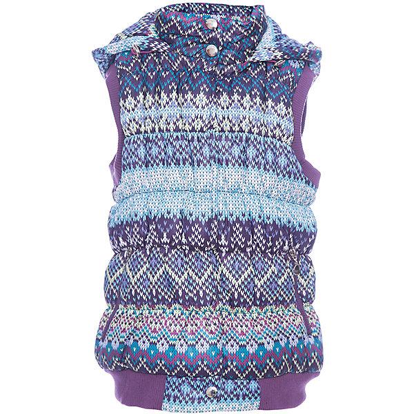 Жилет Luminoso для девочкиВерхняя одежда<br>Характеристики товара:<br><br>• цвет: голубой<br>• состав ткани: 100% полиэстер/100% нейлон<br>• подкладка: 100% полиэстер <br>• утеплитель: 100% полиэстер <br>• сезон: демисезон<br>• сезон: демисезон<br>• застежка: молния<br>• капюшон<br>• декор: принт<br>• страна бренда: Россия<br>• страна производства: Китай<br><br>Детский жилет легко надевается благодаря удобной молнии. Жилет Luminoso для девочки сделан из качественного материала с утеплителем. Жилет для ребенка дополнен капюшоном и карманами. <br><br>Жилет Luminoso (Люминозо) для девочки можно купить в нашем интернет-магазине.<br><br>Ширина мм: 190<br>Глубина мм: 74<br>Высота мм: 229<br>Вес г: 236<br>Цвет: лиловый<br>Возраст от месяцев: 96<br>Возраст до месяцев: 108<br>Пол: Женский<br>Возраст: Детский<br>Размер: 134,164,158,152,146,140<br>SKU: 7097250