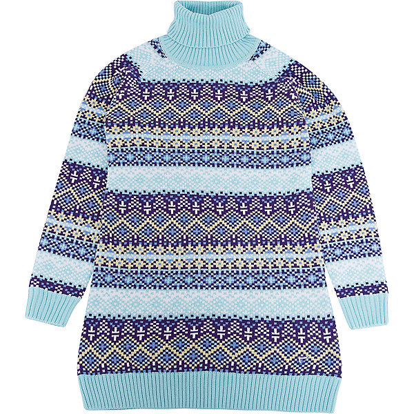 Платье Luminoso для девочкиПлатья и сарафаны<br>Характеристики товара:<br><br>• цвет: голубой<br>• состав: 60% хлопок, 40% акрил<br>• сезон: демисезон<br>• длинные рукава <br>• декор: вязаный узор<br>• страна бренда: Россия<br>• страна производства: Китай<br><br>Это платье для девочки сделано из мягкого дышащего материала. Удобное платье Luminoso для девочки отличается оригинальным вязаным узором. В таком детском платье ребенок будет выглядеть аккуратно и чувствовать себя комфортно.<br><br>Платье Luminoso (Люминозо) для девочки можно купить в нашем интернет-магазине.<br><br>Ширина мм: 236<br>Глубина мм: 16<br>Высота мм: 184<br>Вес г: 177<br>Цвет: голубой<br>Возраст от месяцев: 96<br>Возраст до месяцев: 108<br>Пол: Женский<br>Возраст: Детский<br>Размер: 134,164,158,152,146,140<br>SKU: 7097274