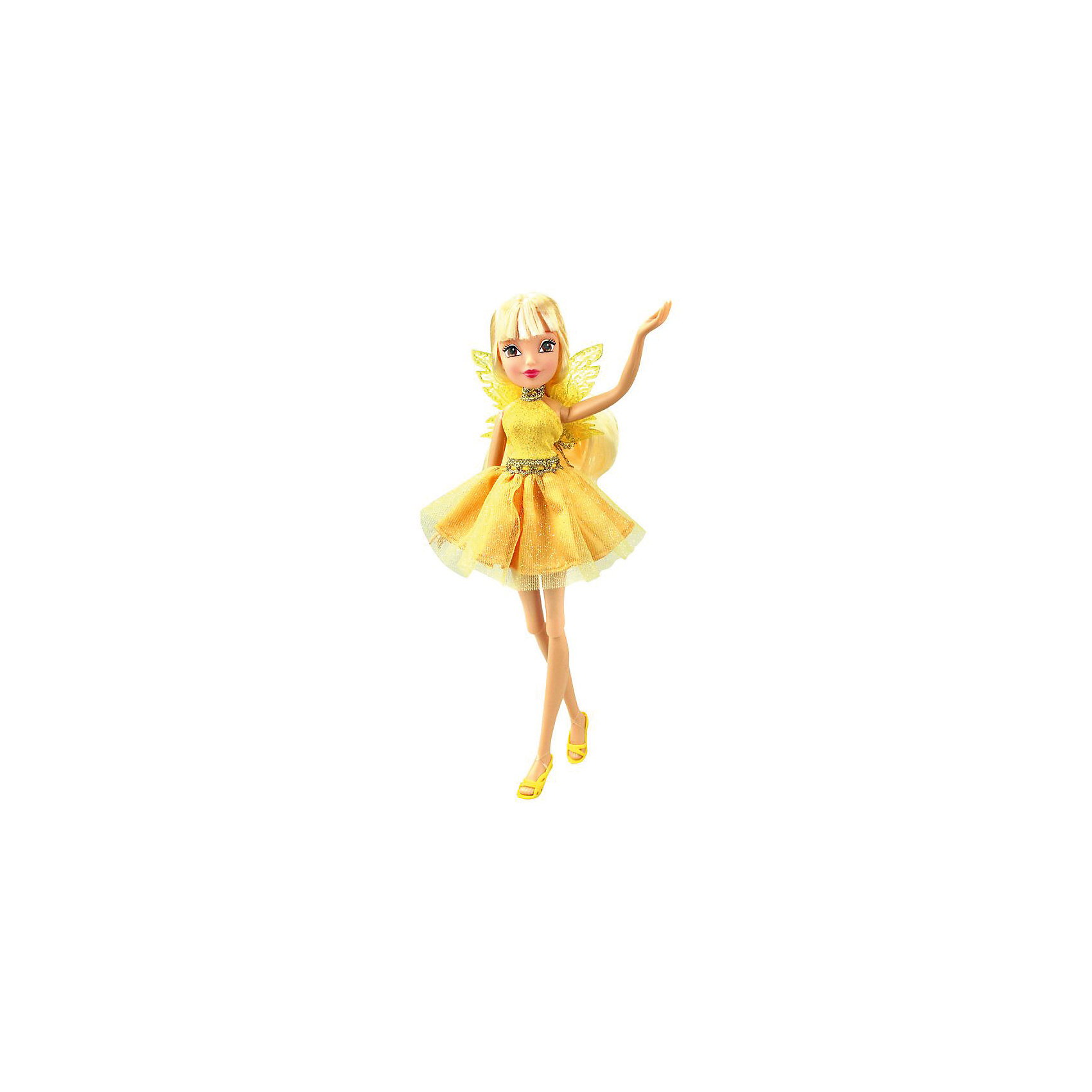 Кукла Winx Club Мода и магия-4 Стелла, 31,5 смПопулярные игрушки<br><br><br>Ширина мм: 130<br>Глубина мм: 60<br>Высота мм: 315<br>Вес г: 225<br>Возраст от месяцев: 36<br>Возраст до месяцев: 120<br>Пол: Женский<br>Возраст: Детский<br>SKU: 7097664