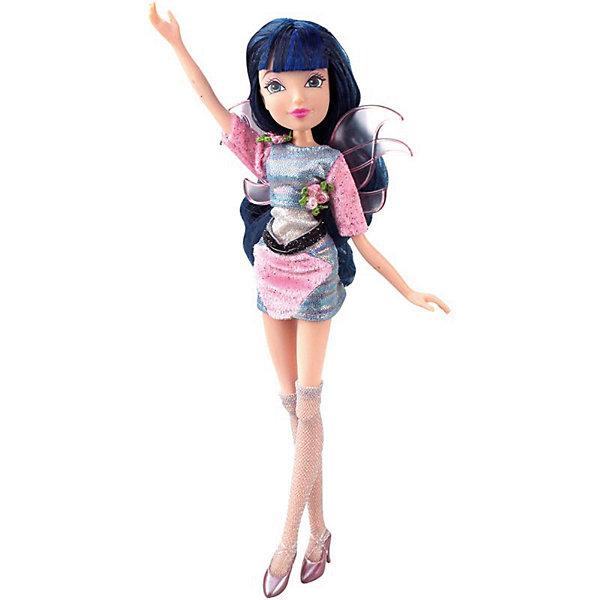 Кукла Winx Club WOW Лофт Муза, 35 смWinx Club<br>Характеристики товара:<br><br>• возраст: от 3 лет;<br>• материал: пластик;<br>• размер упаковки: 35х21х6 см;<br>• вес: 245 гр.;<br>•высота куклы: 28 см;<br>•упаковка: коробка;<br>•страна производитель: Китай;<br>• бренд: Winx Club.<br><br>Кукла Winx Club из коллекции «WOW Лофт» Муза приглашает каждую любительницу мультипликационного сериала Winx на встречу приключениям. Образ куклы в точности повторяет образ героини в новом мультсериале «Мир Винкс», где феи обитают в обычном мире и, скрывая свои способности, ищут талантливых людей в шоу под названием WOW.<br><br>Муза одета в стильное блестящее платье, а на ногах у неё стильные чулки в сеточку и блестящие розовые туфельки. За спиной у куклы почти невидимые крылышки, которые фея скрывает от внешнего мира.<br><br>Талант Музы – ее вокальные способности, поэтому в комплекте с куклой идёт микрофон на настоящей стойке и найшники.<br><br>Ноги и руки у куклы подвижные, их можно сгибать в суставах и придавать фее различные позы. Кукла в точности повторяет черты лица своего мультипликационного прототипа. Длинные тёмные волосы Музы выполнены из гладкого нейлона высокого качества и надежно прошиты. Волосы можно без проблем расчесывать и укладывать, так как они не запутываются.<br><br>Куклу Winx Club «WOW Лофт» Муза можно купить в нашем интернет-магазине.<br><br>Ширина мм: 210<br>Глубина мм: 60<br>Высота мм: 350<br>Вес г: 225<br>Возраст от месяцев: 36<br>Возраст до месяцев: 120<br>Пол: Женский<br>Возраст: Детский<br>SKU: 7097677