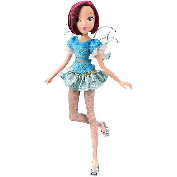 Кукла Winx Club WOW Лофт Техна, 35 смWinx Club<br>Характеристики товара:<br><br>• возраст: от 3 лет;<br>• материал: пластик;<br>• размер упаковки: 35х21х6 см;<br>• вес: 245 гр.;<br>•высота куклы: 28 см;<br>•упаковка: коробка;<br>•страна производитель: Китай;<br>• бренд: Winx Club.<br><br>Кукла Winx Club из коллекции «WOW Лофт» Техна приглашает каждую любительницу мультипликационного сериала Winx на встречу приключениям. Образ куклы в точности повторяет образ героини в новом мультсериале «Мир Винкс», где феи обитают в обычном мире и, скрывая свои способности, ищут талантливых людей в шоу под названием WOW.<br><br>Техна одета в стильный голубой костюм из юбки и топа в блестках. На ногах у неё стильные леггинсы в сеточку и серебряные туфельки. За спиной у куклы почти невидимые голубые крылышки, которые фея скрывает от внешнего мира.<br><br>Талант Лайлы – ее знания в сфере современных технологий, поэтому в комплекте с куклой идут телефон, фотоаппарат и планшет.<br><br>Ноги и руки у куклы подвижные, их можно сгибать в суставах и придавать фее различные позы. Кукла в точности повторяет черты лица своего мультипликационного прототипа. У Техны короткие темные волосы с розовыми прядями, которые выполнены из гладкого нейлона высокого качества и надежно прошиты. <br><br>Куклу Winx Club «WOW Лофт» Техна можно купить в нашем интернет-магазине.<br><br>Ширина мм: 210<br>Глубина мм: 60<br>Высота мм: 350<br>Вес г: 225<br>Возраст от месяцев: 36<br>Возраст до месяцев: 120<br>Пол: Женский<br>Возраст: Детский<br>SKU: 7097679