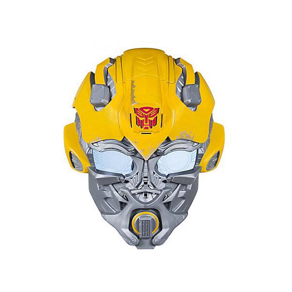 Электронная маска Hasbro Трансформеры 5, БамблбиДругие наборы<br>Характеристики товара:<br><br>• возраст: от 5 лет;<br>• материал: пластик;<br>• тип батареек: 3 батарейки ААА;<br>• наличие батареек: демонстрационные в комплекте;<br>• размер упаковки: 29,8х22,9х2,5 см;<br>• вес упаковки: 850 гр.;<br>• страна производитель: Китай.<br><br>Электронная маска Трансформеров «Бамблби» Hasbro позволит попробовать себя в роли одного из известных персонажей трансформеров. Она создана по мотивам фильма «Трансформеры: Последний рыцарь». Маска оснащена необычной функцией изменения голоса. Одевается при помощи удобного регулирующегося ремешка.<br><br>Электронную маску Трансформеров «Бамблби» Hasbro можно приобрести в нашем интернет-магазине.<br>Ширина мм: 9999; Глубина мм: 9999; Высота мм: 9999; Вес г: 9999; Возраст от месяцев: 60; Возраст до месяцев: 120; Пол: Мужской; Возраст: Детский; SKU: 7097970;