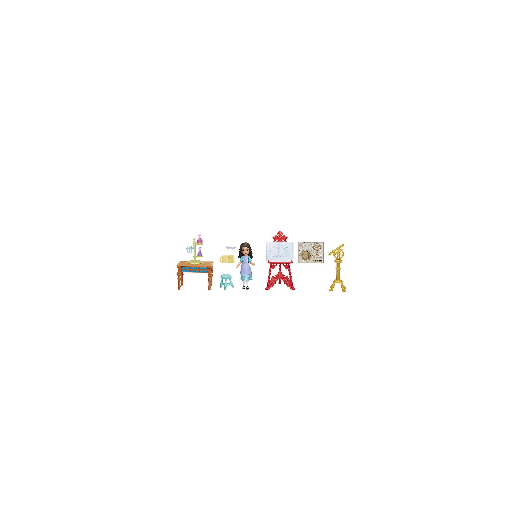 Набор с мини-куклой Hasbro Елена - принцесса Авалона, Изабелла в лабораторииПопулярные игрушки<br>Характеристики:<br><br>• игровой набор для сюжетно-ролевых игр с принцессой Еленой и ее подругой Наоми;<br>• набор предназначен для маленьких кукол из серии Елена – принцесса Авалора;<br>• предметы набора изготовлены из пластика;<br>• разнообразить игры помогают дополнительные предметы из различных наборов;<br>• предметы игровых наборов совместимы друг с другом;<br>• обратите внимание: игрушки в ассортименте, представлены различные игровые наборы.<br><br>Игровой набор для маленьких кукол Елена – принцесса Авалора ассорт можно купить в нашем интернет-магазине.<br><br>Ширина мм: 9999<br>Глубина мм: 9999<br>Высота мм: 9999<br>Вес г: 9999<br>Возраст от месяцев: 48<br>Возраст до месяцев: 120<br>Пол: Женский<br>Возраст: Детский<br>SKU: 7097978