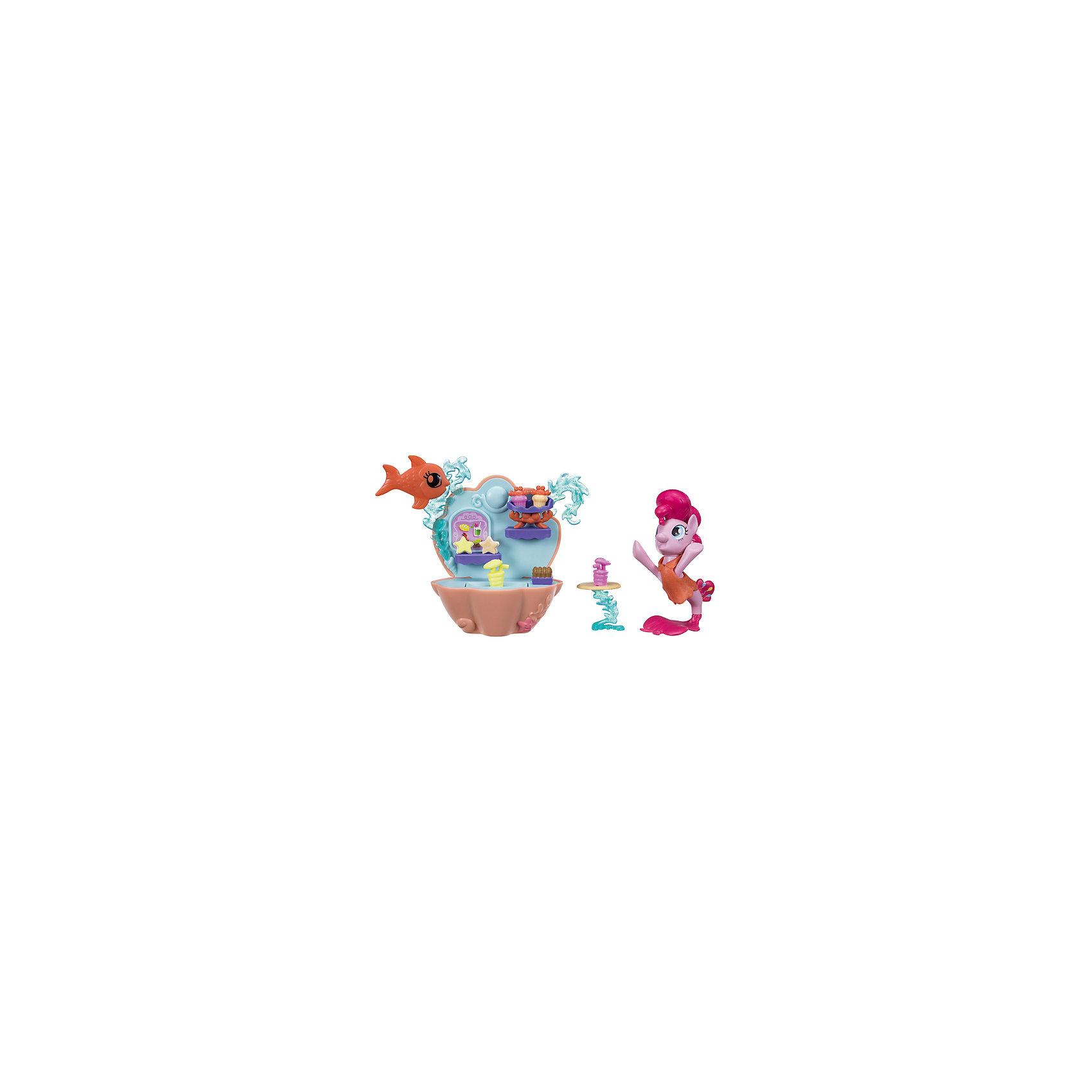 Игровой набор Hasbro My Little Pony Мерцание, Пинки ПайФигурки из мультфильмов<br>Характеристики:<br><br>• игровой набор включает в себя пони-модницу и комплект аксессуаров;<br>• предметы набора позволяют разнообразить игру;<br>• при наличии других фигурок «Мерцание» игра становится насыщеннее;<br>• пони устойчиво стоит на специальной подставке;<br>• материал: пластик;<br>• девочка придумывает разные истории с участием персонажа;<br>• развивается фантазия, пополняется словарный запас.<br><br>MLP «Мерцание» пони с набором аксессуаров можно купить в нашем интернет-магазине.<br><br>Ширина мм: 9999<br>Глубина мм: 9999<br>Высота мм: 9999<br>Вес г: 9999<br>Возраст от месяцев: 36<br>Возраст до месяцев: 120<br>Пол: Женский<br>Возраст: Детский<br>SKU: 7097983