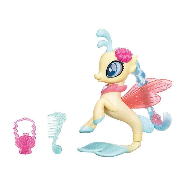 Игровой набор Hasbro My Little Pony Мерцание, Принцесса СкайстарФигурки из мультфильмов<br>Характеристики товара:<br><br>• возраст: от 3 лет;<br>• материал: пластик;<br>• в комплекте: фигурка пони, аксессуары;<br>• высота фигурки: 15 см;<br>• размер упаковки: 20,3х23х6,7 см;<br>• вес упаковки: 400 гр.;<br>• страна производитель: Китай.<br><br>Игровой набор «Пони-модницы: Мерцание» Hasbro создан по мотивам известного мультсериала про разноцветных маленьких пони. В набор входят фигурка пони и аксессуары, которые разнообразят игровой процесс. У пони яркая мягкая грива, которую можно расчесывать, украшать заколками и резиночками. Игрушка выполнена из качественного безопасного пластика.<br><br>Игровой набор «Пони-модницы: Мерцание» Hasbro можно приобрести в нашем интернет-магазине.<br><br>Ширина мм: 9999<br>Глубина мм: 9999<br>Высота мм: 9999<br>Вес г: 9999<br>Возраст от месяцев: 36<br>Возраст до месяцев: 120<br>Пол: Женский<br>Возраст: Детский<br>SKU: 7097986