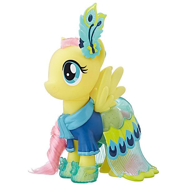 Игровой набор Hasbro My Little Pony Сияние. Пони-модницы, ФлаттершайФигурки из мультфильмов<br>Характеристики товара:<br><br>• возраст: от 3 лет;<br>• материал: пластик;<br>• в комплекте: фигурка пони, аксессуары;<br>• высота фигурки: 15 см;<br>• размер упаковки: 20,3х23х7 см;<br>• вес упаковки: 400 гр.;<br>• страна производитель: Китай.<br><br>Игровой набор «Пони-модницы: Сияние» Hasbro создан по мотивам известного мультсериала про разноцветных маленьких пони. У пони съемные элементы одежды. А дополнительный комплект поможет создавать пони каждый раз новый образ. Игрушка выполнена из качественного безопасного пластика.<br><br>Игровой набор «Пони-модницы: Сияние» Hasbro можно приобрести в нашем интернет-магазине.<br>Ширина мм: 9999; Глубина мм: 9999; Высота мм: 9999; Вес г: 9999; Возраст от месяцев: 36; Возраст до месяцев: 120; Пол: Женский; Возраст: Детский; SKU: 7097987;