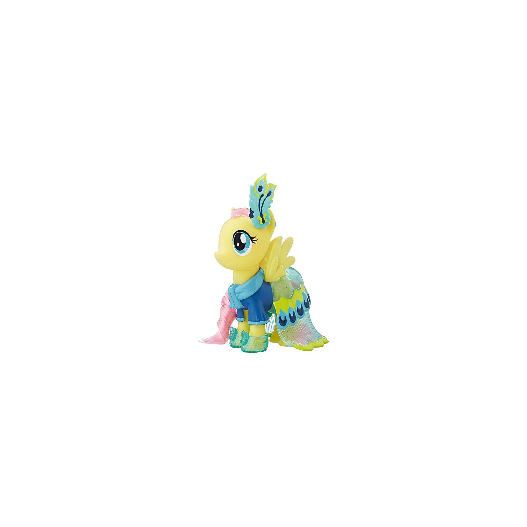 Игровой набор Hasbro My Little Pony Сияние. Пони-модницы, ФлаттершайФигурки из мультфильмов<br>Характеристики:<br><br>• в наборе MLP представлен персонаж из серии «Сияние»;<br>• пони-модница одета в яркий наряд, имеется головной убор;<br>• фигурки могут принять участие в различных сюжетно-ролевых играх, в процессе которых развивается фантазия, расширяется словарный запас, девочки учатся взаимодействовать друг с другом;<br>• материал игрушки: пластик, полимер;<br>• в комплекте аксессуары.<br><br>MLP «Сияние» пони-модницы можно купить в нашем интернет-магазине.<br><br>Ширина мм: 9999<br>Глубина мм: 9999<br>Высота мм: 9999<br>Вес г: 9999<br>Возраст от месяцев: 36<br>Возраст до месяцев: 120<br>Пол: Женский<br>Возраст: Детский<br>SKU: 7097987