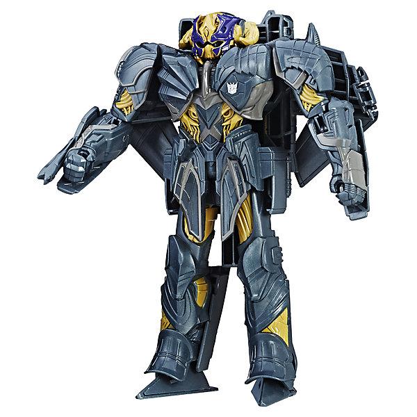 Трансформеры Hasbro Transformers 5 Войны, МегатронТрансформеры-игрушки<br>Характеристики товара:<br><br>Серия: Transrormers 5<br>Тип: Трансформер<br>Трансформация: механическая, ручная<br>Материал: Пластик<br>Возраст: От 6 лет<br>Размеры упаковки (длина/высота/ширина), см: 20 x 25 х 8<br><br>Фигурки героев фильма Трансфформеры 5 с броней и уникальным дизайном. Средний размер фигурок и высокий уровень детализации. Лёгкая трансформация в 3 шага.<br><br>Трансформеры Hasbro Transformers 5 Войны, Мегатрон можно купить в нашем интернет-магазине.<br><br>Ширина мм: 79<br>Глубина мм: 203<br>Высота мм: 254<br>Вес г: 250<br>Возраст от месяцев: 72<br>Возраст до месяцев: 2147483647<br>Пол: Мужской<br>Возраст: Детский<br>SKU: 7098830